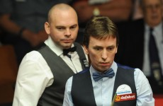 Doherty still in the hunt in World Snooker Championship first round tie