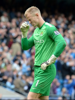 Joe Hart knows all about City's recent pain at Goodison.