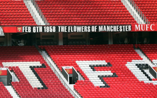 Soccer - Chosen One Banner Banner Removed - Old Trafford
