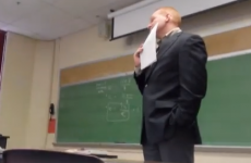 Student pulls brilliant pregnancy phone call prank on teacher