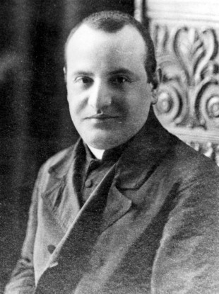 This 1913 file photo shows a portrait of the Rev. Angelo Giuseppe Roncalli at the time he was a domestic prelate.