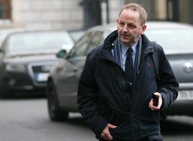 Garda whistleblowers Sergeant Maurice McCabe