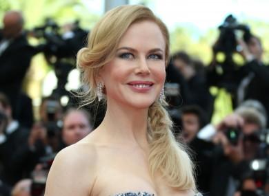 Nicole Kidman at the Grace of Monaco premiere last night