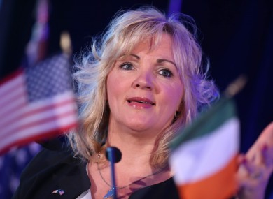 Louise Phelan of the American Chamber of Commerce.