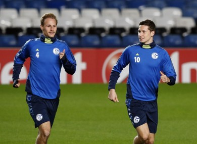 Howedes and Draxler are both with Schalke.
