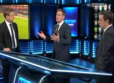 The Monday Night Football panel discuss Liverpool's late concession of three goals.