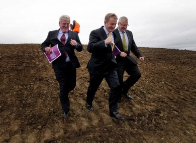 An Taoiseach getting active at the National Sports Campus.