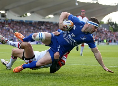 McFadden was subbed off after a knock to the head against Ulster.