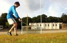 Young hurler is cool as you like with flick and inch-perfect crossbar challenge effort