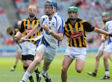 Austin Gleeson was in action against Kilkenny in last year's All-Ireland hurling semi-final.