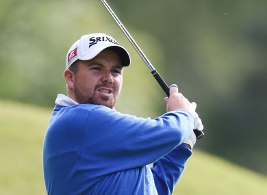Shane Lowry during day two of the BMW PGA Championship at the Wentworth Club.