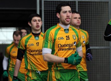 Mark McHugh left the Donegal panel this week.