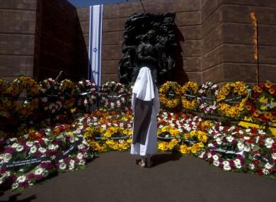 The Yad Vashem memorial in Jerusalem.
