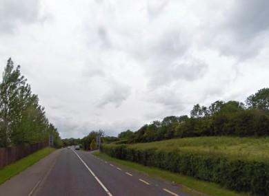 The N54 near Smithborough