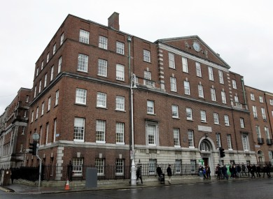 The current National Maternity Hospital at Holles Street