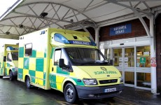 Man injured as stolen ambulance collides with a bus
