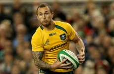 Wallabies star Quade Cooper set for 16 weeks out with shoulder problem