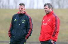 Munster old guard's fresh start after 'frustrating' two seasons under Penney