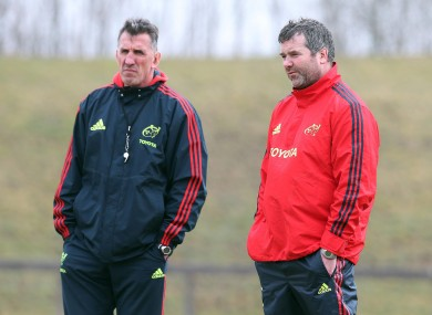 Rob Penney has left Anthony Foley with a good crop of young players but a frustrated backline.