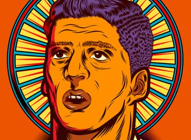 The superb artwork that accompanies Wright Thompson's piece on Luis Suarez for ESPN.