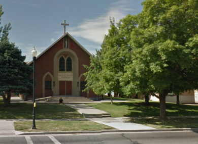 The Salt Lake City church where it all went down. (The man in this Google Maps photo was not involved.)