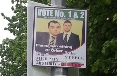 Classy election poster in Limerick sums up Irish politics to perfection