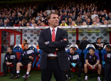 Brendan Rodgers is hoping West Ham can do him a favour by beating City tomorrow.