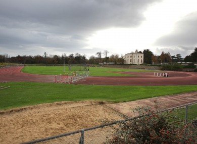 The UCD track was suddenly closed in November 2011 with little advance warning.