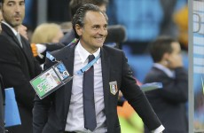 Italy's midfield domination beat England – Prandelli