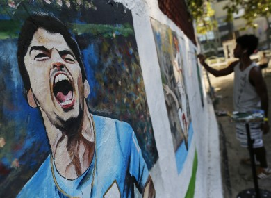 Everyone's still talking about Suárez in Uruguay.