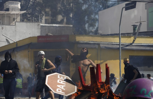 Brazil WCup Protests