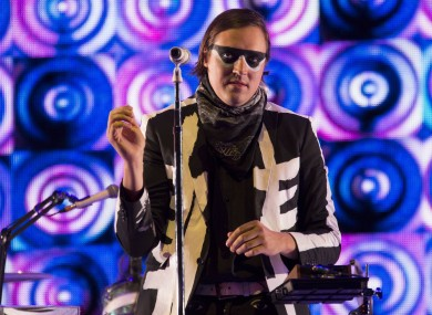 Win Butler from Arcade Fire
