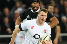 Analysis: England's Chris Ashton shows the value of proactive support lines
