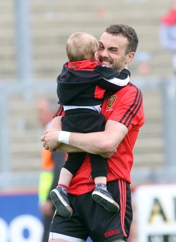 Conor Laverty and his son Setanta 2/6/2013