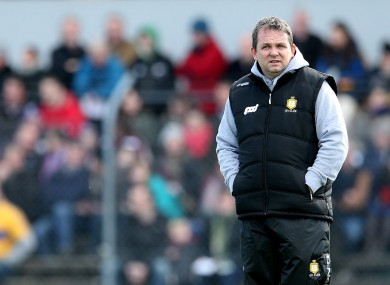 Banner boss Davy Fitzgerald needs to regroup his troops.