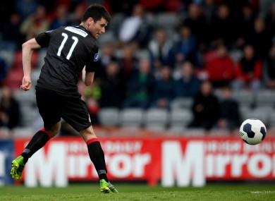 Corcoran missed a late chance to claim all three points for Bohs.