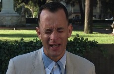 Forrest Gump on TV last night reduced the nation to a sobbing wreck