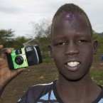 This is Gatwich, a 12 year-old South Sudan refugee currently living at Kule refugee camp in Gambella, just inside the Ethiopian border. Gatwich came to Kule from South Sudan in April with his family. His father stayed behind to fight in the war. Gatwich hopes that he will arrive at the camp soon.