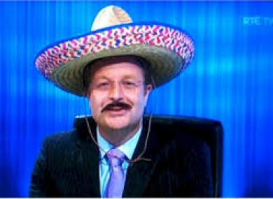 Darragh Maloney: will hopefully bust out the sombrero this month.