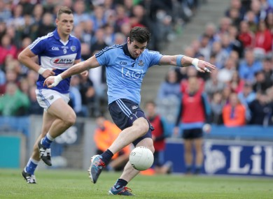 Michael Darragh MacAuley scored Dublin's second goal.