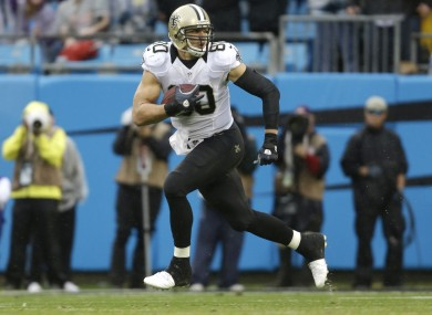 Jimmy Graham, tight end or wide receiver?