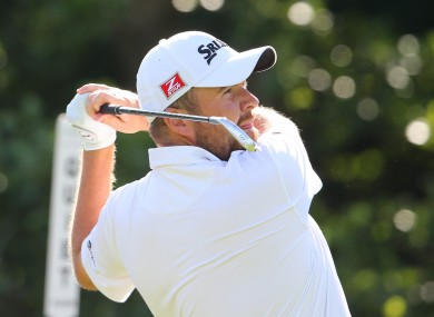 Shane Lowry carded an opening round of 67.