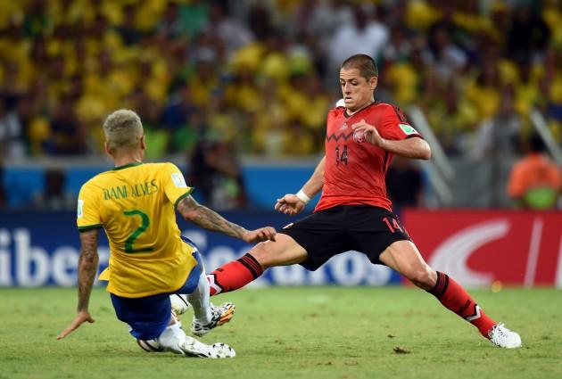 Soccer - FIFA World Cup 2014 - Group A - Brazil v Mexico - Estadio Castelao