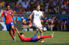 As it happened: England v Costa Rica, Italy v Uruguay, World Cup Group D