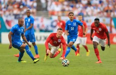 Stalemate as England held by Honduras following 43-minute suspension of play