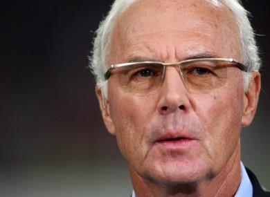 Franz Beckenbauer has been provisionally banned from taking part in any football-related activity, at any level, for 90 days.