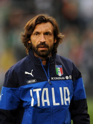 Playmaker: Andre Pirlo has broken English hearts before.