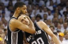 Heroic efforts of MVP Durant not enough as Spurs set up Heat finalé