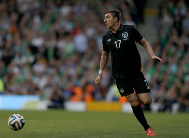 Stephen Ward was summoned from his summer holidays to face Portugal.