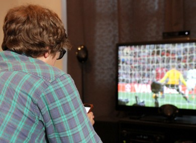96% of Irish viewers plan to watch the World Cup from the comfort of their own home.